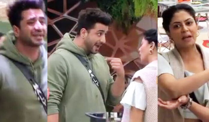 """Bigg Boss 14 Kavita Kaushik says """"Main Tumhari Baap Hoon"""" to Aly Goni which he loses calm and have an ugly fight with her"""