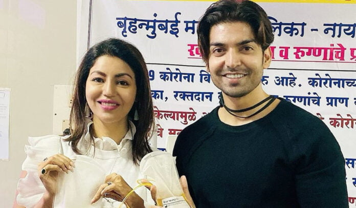 Gurmeet Choudhary and wife Debina spread Goodwill as they donate Plasma for COVID Patients