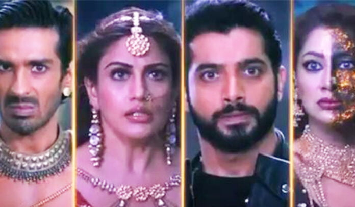 Naagin 5 Veer and Jay saves Bani from Markat the evil spirit