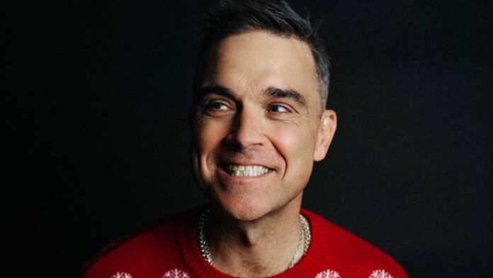 Robbie Williams drops funny festive single 'Can't Stop Christmas'