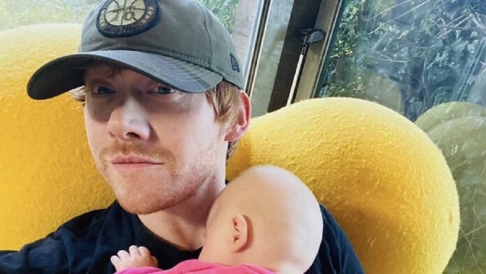 Rupert Grint joins Instagram, shares first photo of his baby