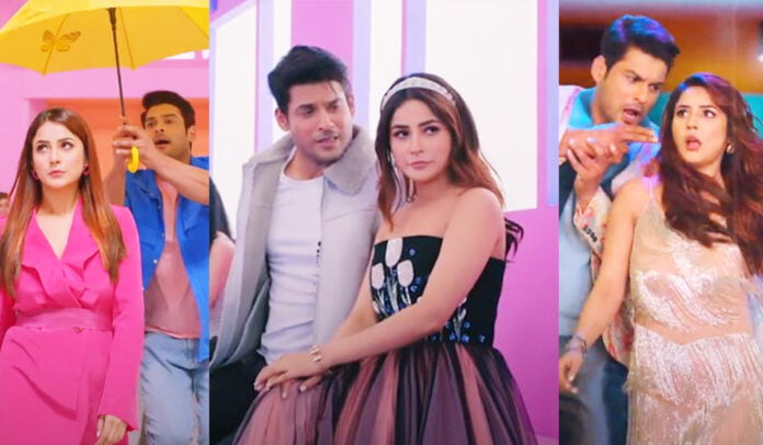 Shona Shona Song Out Sidharth Shukla and his 'Shona' Shehnaaz Gill flaunting their sizzling chemistry in this happy romantic track