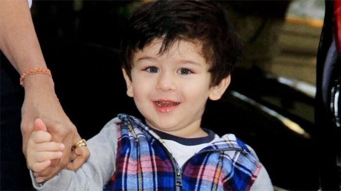 Taimur Ali khan singing the birthday song for a friend and it went viral