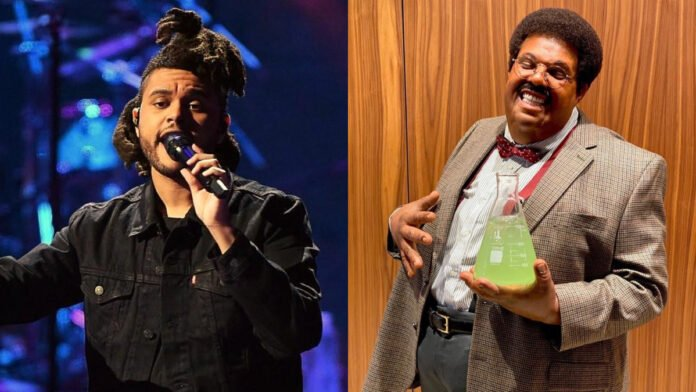 The Weeknd totally nails 'The Nutty Professor' look for Halloween