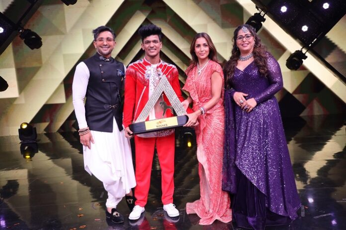 The first season of India's Best Dancer finds its winner in Tiger Pop, from Gurugram