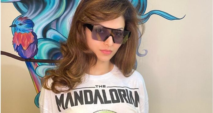 Urvashi Rautela looks ready to travel the space in this Tee have a look