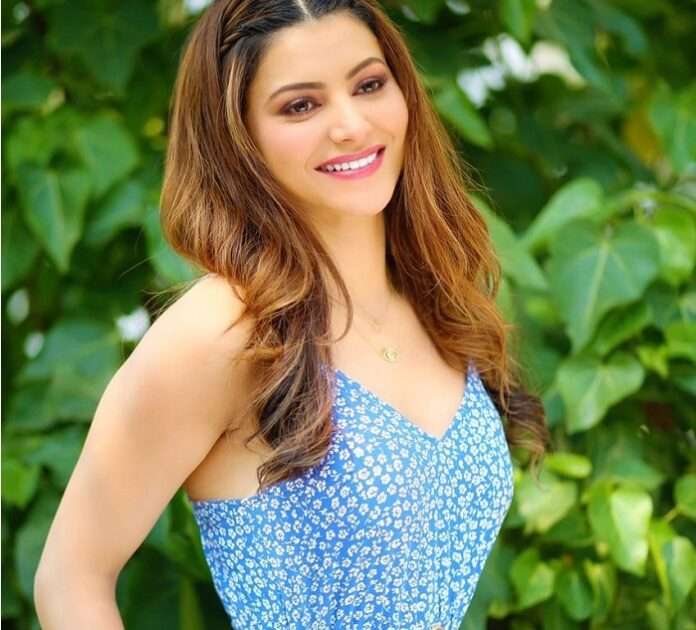 Urvashi Rautela looks adorable in the blue floral dress