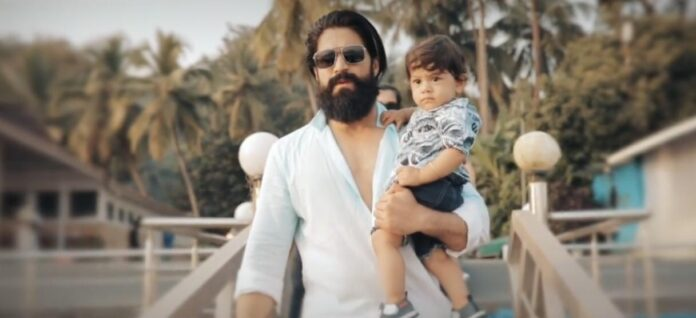 Yash, a family man celebrating his son's first birthday in the most heartwarming manner