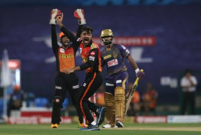 SRH's Rashid picked wickets, conceded less than run-a-ball (Lead)