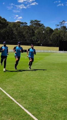 Horses for courses for India during fielding practice in Sydney