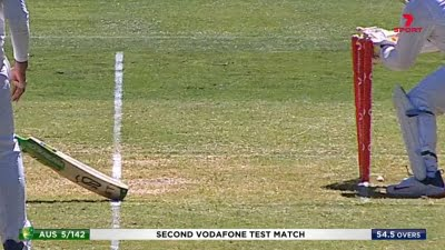 2nd Test: Warne 'very surprised' as Paine survives run out review