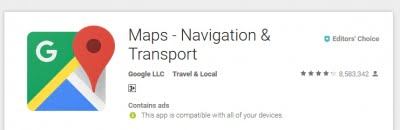 Create mobile app with geolocation, Maps in 5 minutes: Google