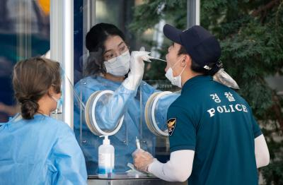 S.Korea reports 615 new Covid-19 cases, 38,161 in total