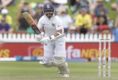 Rahane not worried about poor run in NZ ahead of Aus Tests