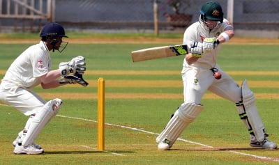 Aus admit Smith, Marnus struggling with India's leg-side theory