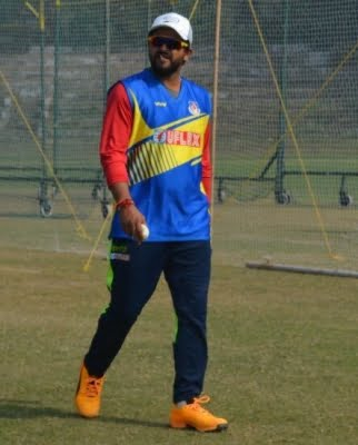 Green Park Stadium's pavilion proposed to be named after Raina