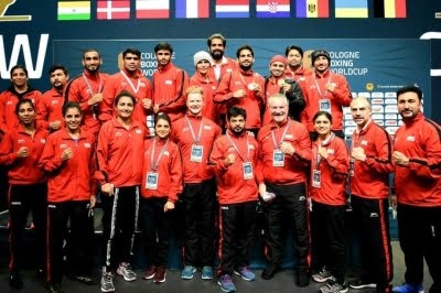 India win nine medals at Cologne Boxing WC, Rijiju lauds performance