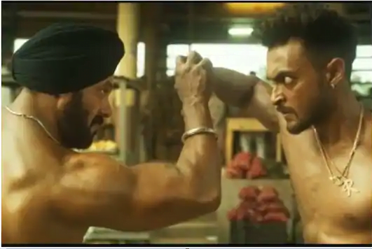 Antim First Look Salman Khan and Aayush Sharma's shirtlesss fight in this action film