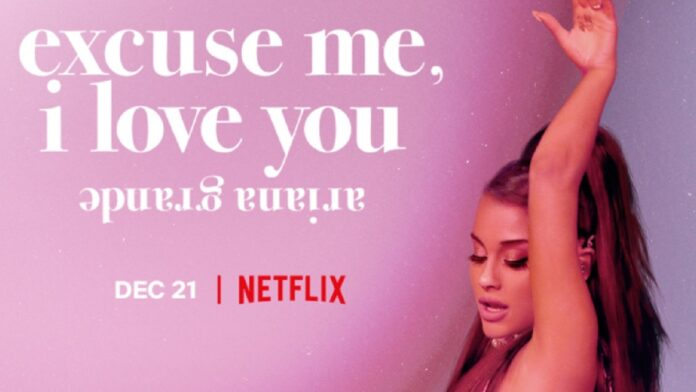Ariana Grande teases fans with Netflix documentary 'Excuse me, I love you'