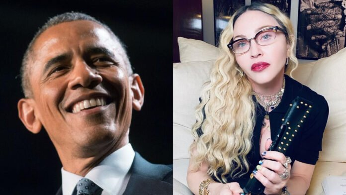Barack Obama reminisces his meeting with Madonna
