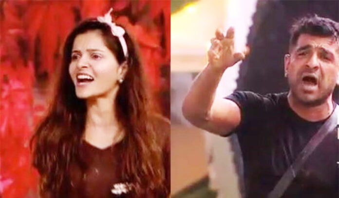 """Bigg Boss 14 Rubina Dilaik says """"You are creating a drama to be seen"""" to Eijaz Khan during the nomination task"""
