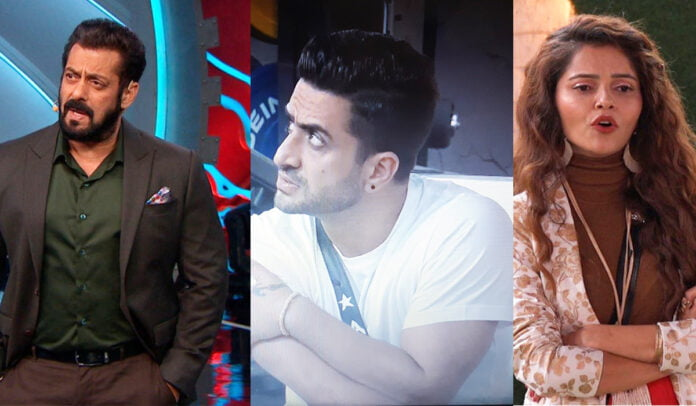 Bigg Boss 14 Salman Khan replaces Aly Goni with Rubina Dilaik as the new captain of the house