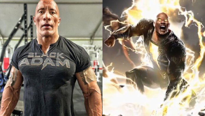 Black Adam: Dwayne Johnson shows off his toned muscles in impressive training snap