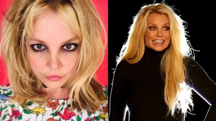 Britney Spears shows off her new '90s-inspired' haircut