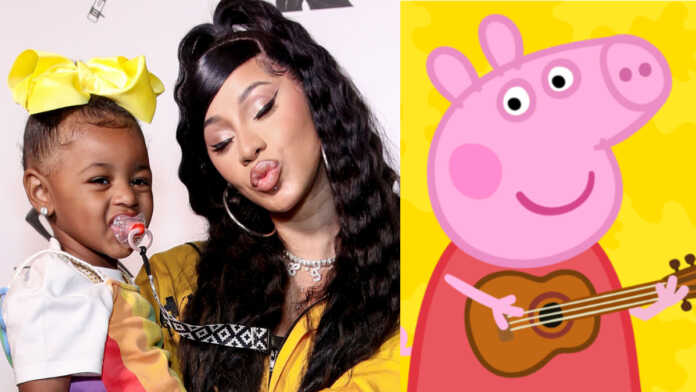 Cardi B slams Peppa Pig for encouraging daughter's puddle stomping