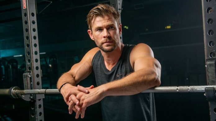 Chris Hemsworth flaunts his ripped body in latest workout video