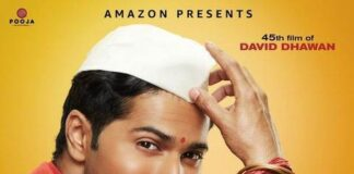 Amazon Prime Video Coolie No. 1 Poster