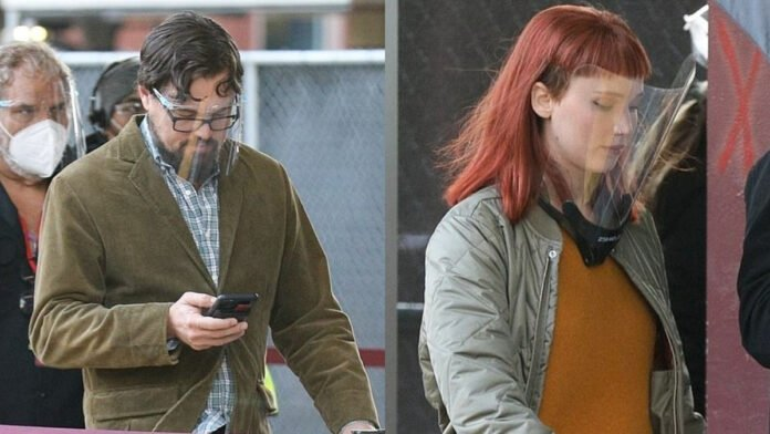Dont Look Up: Leonardo DiCaprio, Jennifer Lawrence look unrecognizable as they gear up for upcoming Netflix film