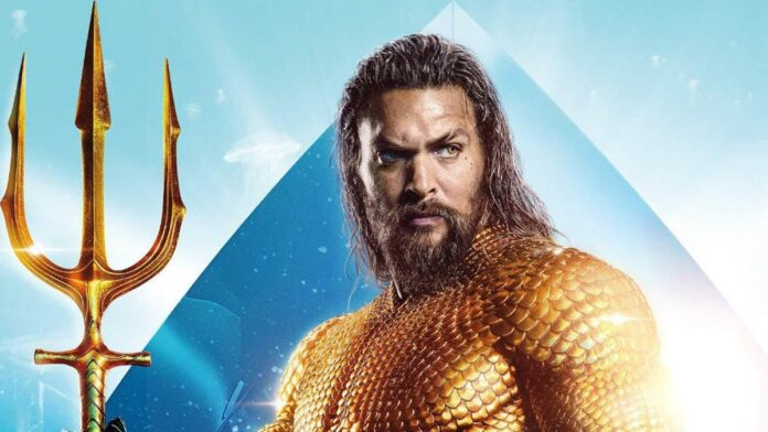Jason Momoa surprises young fan with a life-sized 'Aquaman' trident