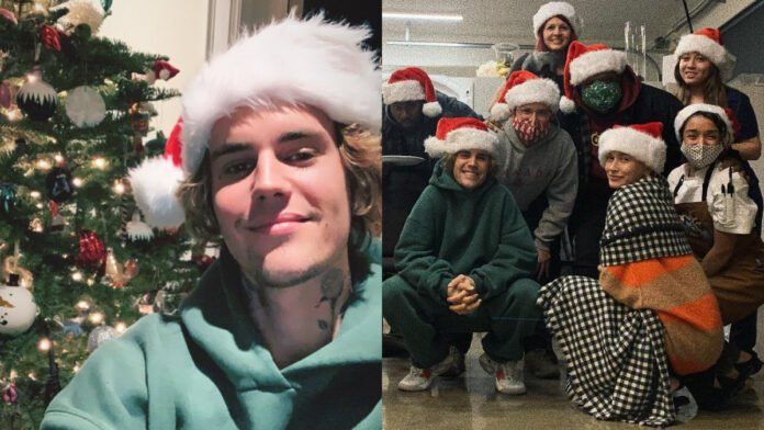 Justin Bieber expressed gratitude to his team-mates and Hailey Baldwin in a sweet Christmas message