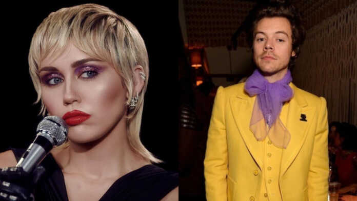 Miley Cyrus admits she'd kiss Harry Styles over Justin Bieber