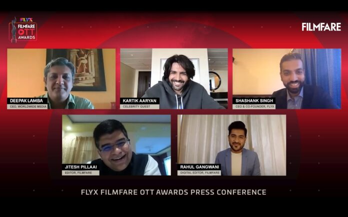 Nomination announcement for the maiden Edition of Flyx Filmfare OTT Awards