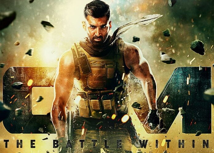 Aditya Roy Kapur's tough warrior look from 'OM - The Battle Within' is here!
