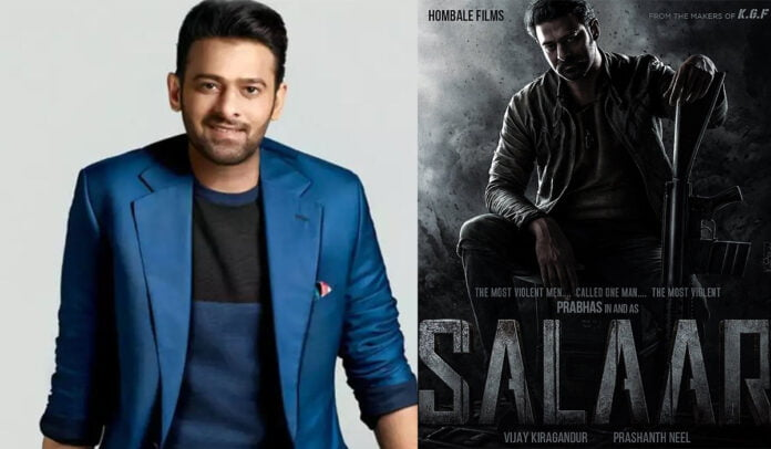 Prabhas confirmed to play the lead in 'SALAAR' collaborates with KGF director Prashanth Neel