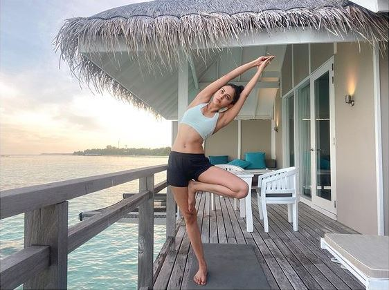 Rakul Preet Singh's throwback picture of Maldivian holiday (pic courtesy: instagram)