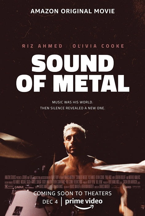Darius Marder's SOUND OF METAL Poster - Movie Review | Amazon Prime Video