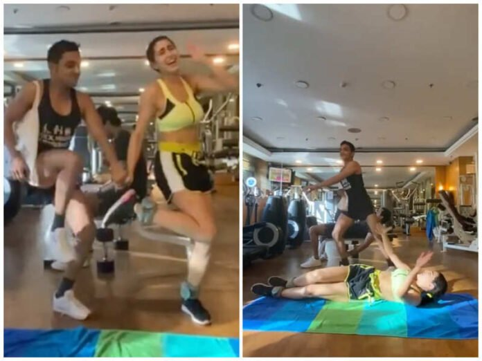 Sara Ali Khan grooving on a 90's song at the gym is viral and winning hearts