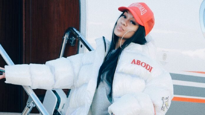 Saweetie celebrates after buying her own private jet