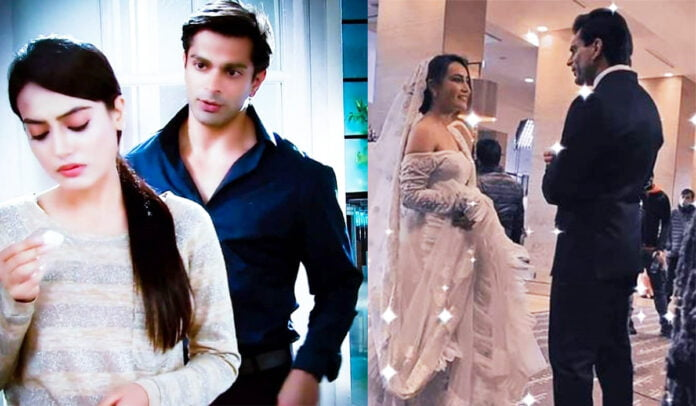 Surbhi Jyoti and Karan Singh Grover's BTS pictures from the sets of Qubool Hai 2.0