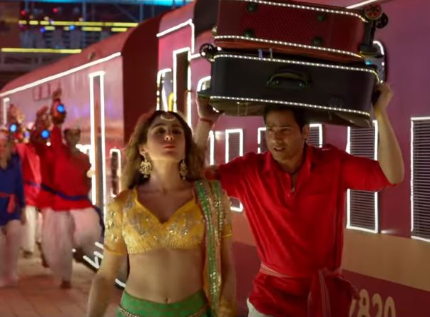 Teri Bhabhi Song out now Varun Dhawan and Sara Ali Khan dance their heart out in this peppy track from Coolie No 1