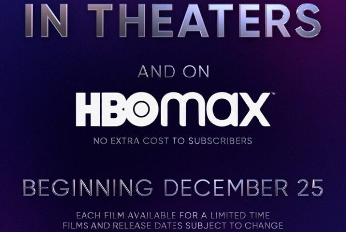 Theatres and HBO Max