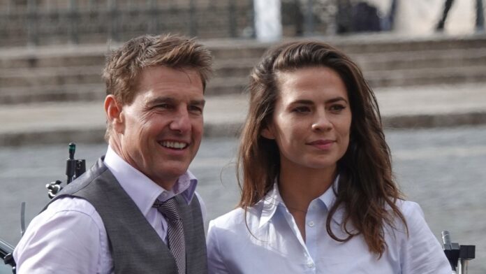 Tom Cruise sparks romance rumors with 'Mission Impossible 7' co-star Hayley Atwell