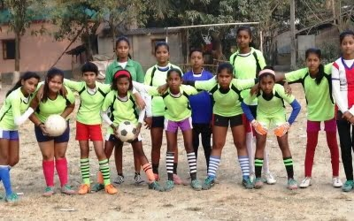 GBLs help Nabadwip defy prejudices & introduce more girls to football