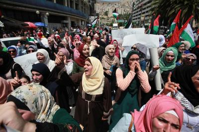 EU organizes West Bank cycling event against gender-based violence