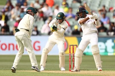 India lose Pujara in post-Dinner session in Adelaide Test
