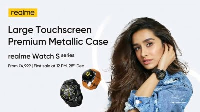 Realme Watch S Pro, Realme Watch S Launched In India; Features, Price